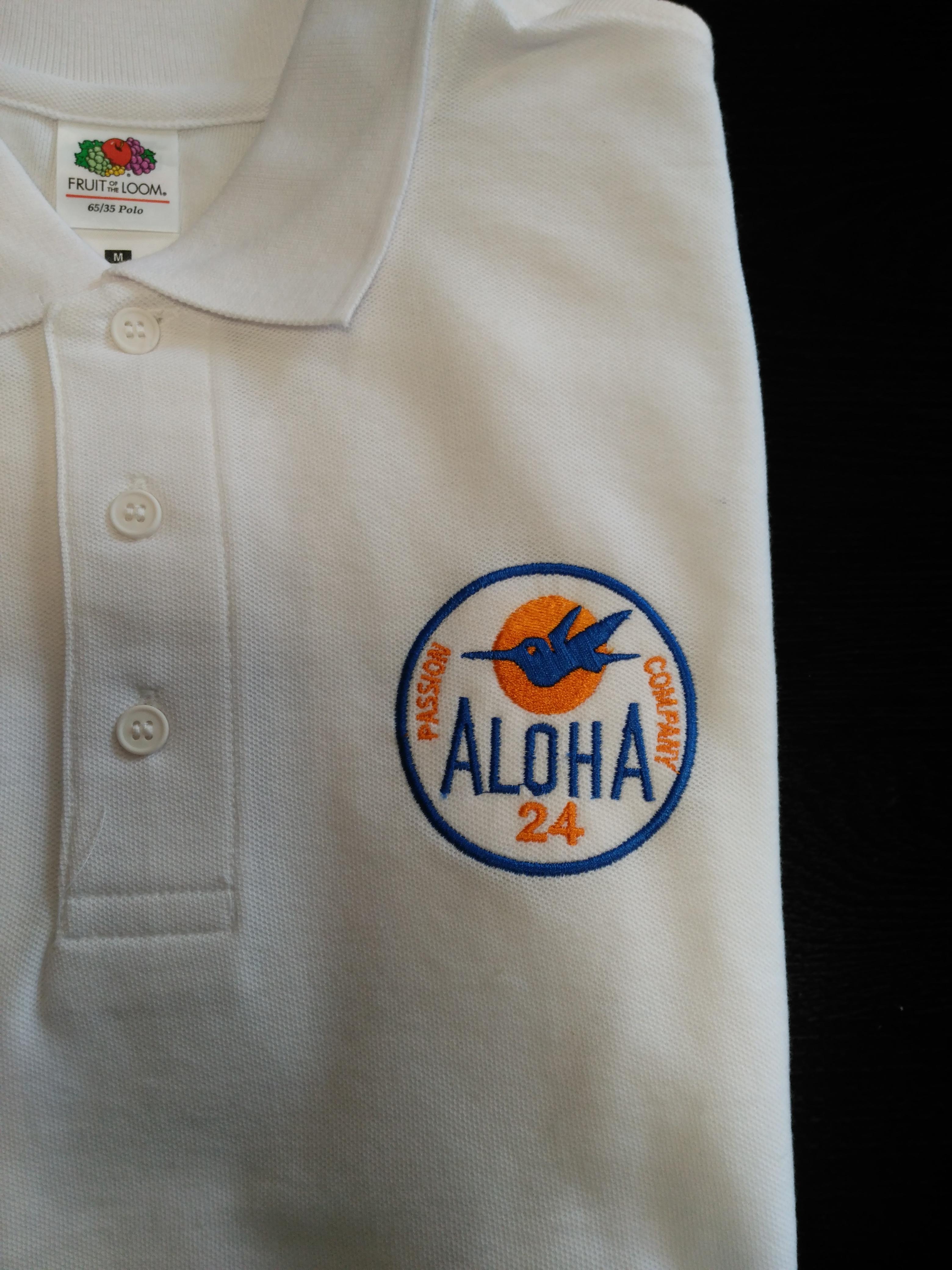 Uniformes realizados a Aloha 24 reparto de comida urgente