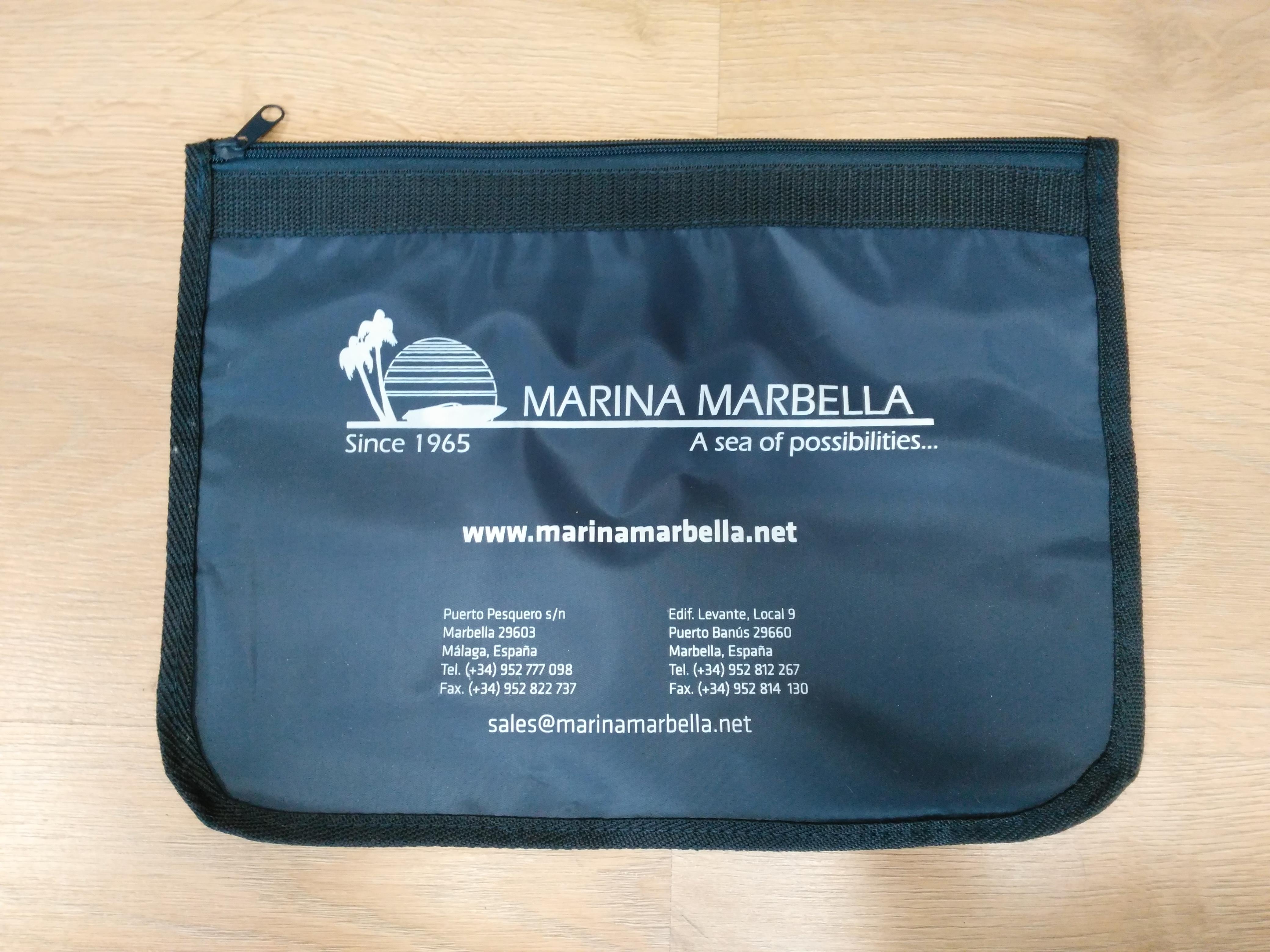 Porta-documentos Marina Marbella