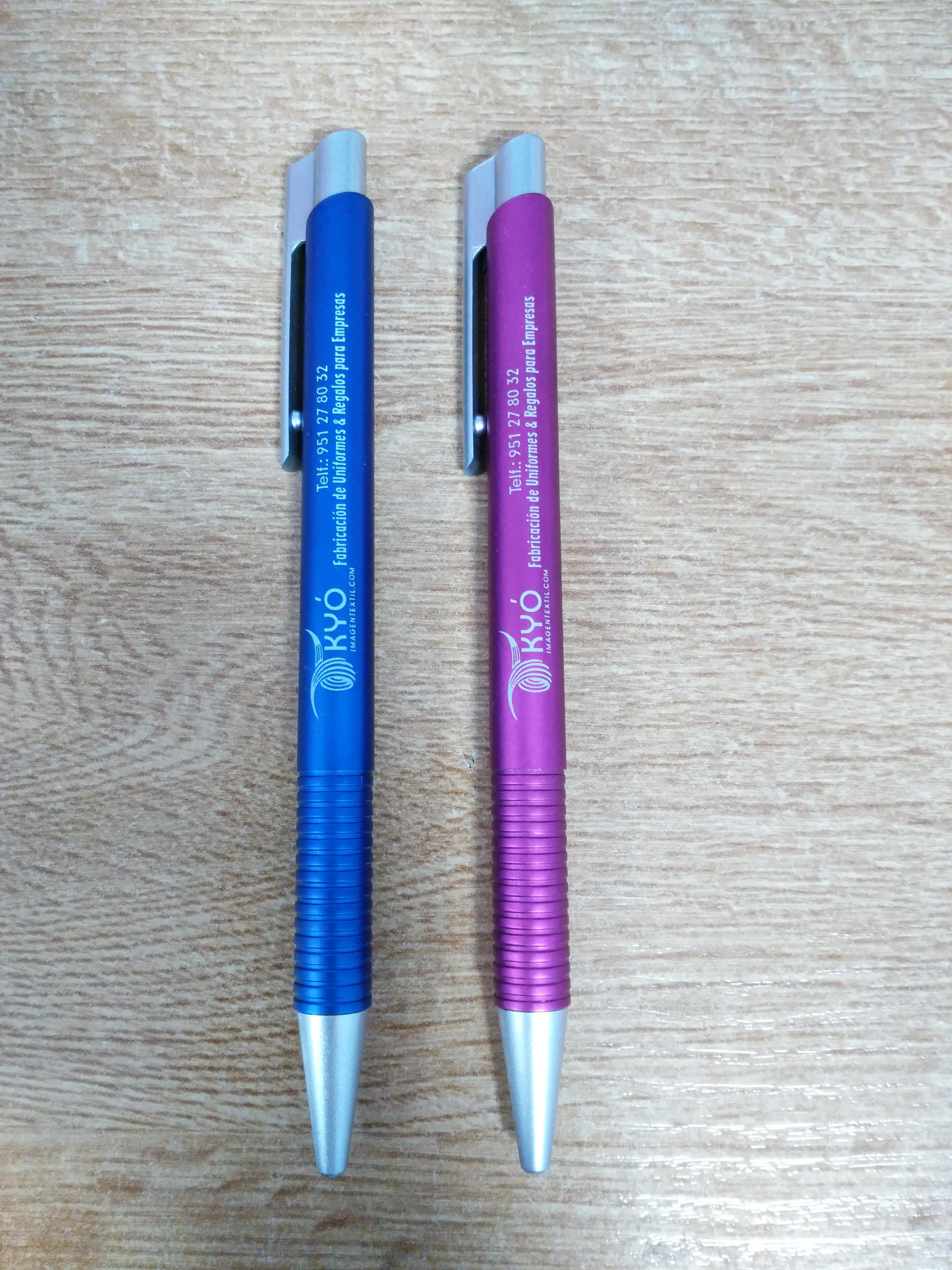 Bolígrafos KYO con tampografía