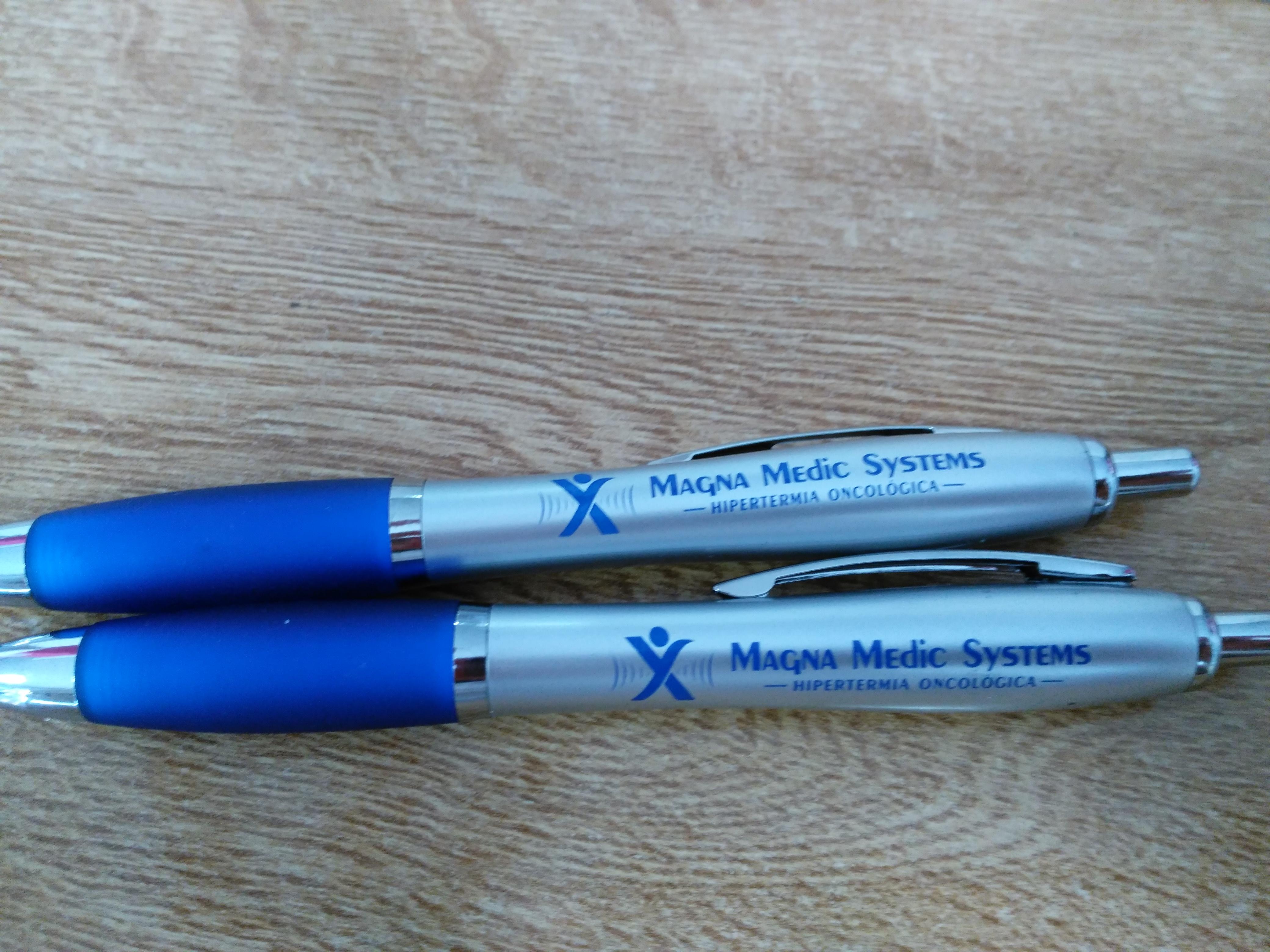 Bolígrafos Magna Clinic
